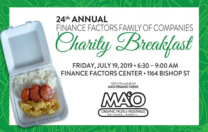 2019 Charity Breakfast